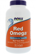 Омега-3 NOW Red Omega   (180 softgels)