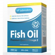 Омега-3 VP Laboratory Fish Oil  (60 капс)