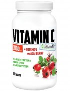 Витамин C BioHealth Vitamin C 1000 мг + Rosehips  (120 таб)