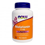Мелатонин NOW Melatonin 3 мг  (180 капс)