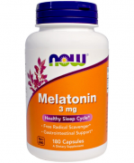 Мелатонин NOW Melatonin 3 мг  (180t.)