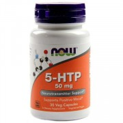 5-HTP  NOW 5-HTP 50 мг  (30 капс)