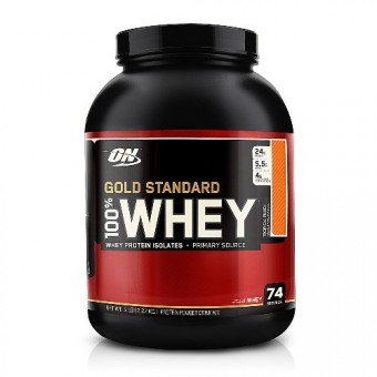 Сывороточный протеин Optimum Nutrition 100% Whey Gold Standard Natural  (2270 г)