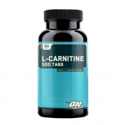 Л-карнитин в таблетках и капсулах Optimum Nutrition L-Carnitine 500 мг  (60 таб)