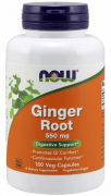 Корень имбиря (Ginger Root) NOW Ginger Root   (100 vcaps)